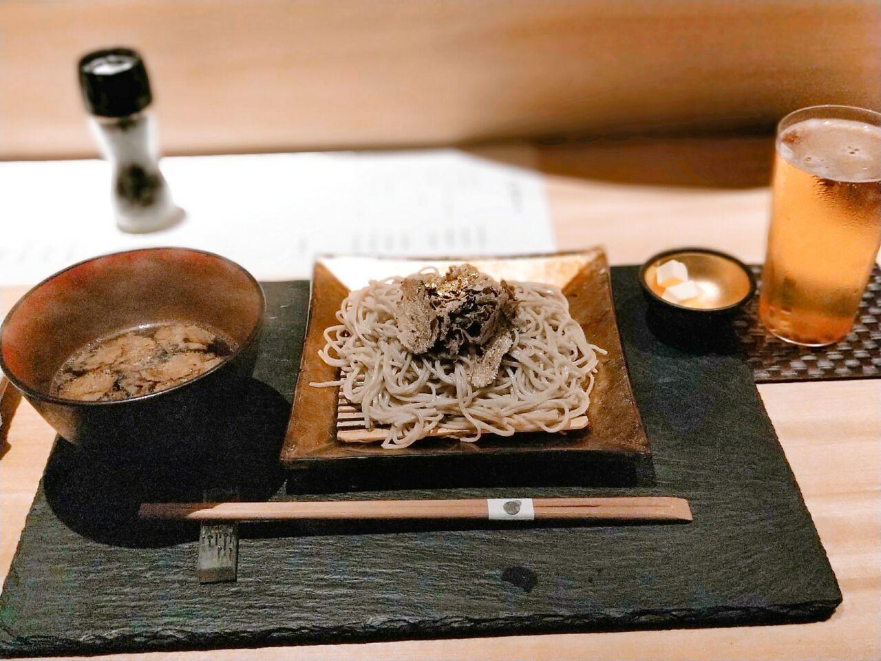 トリュフ蕎麦わたなべ(北新地駅・和食居酒屋)