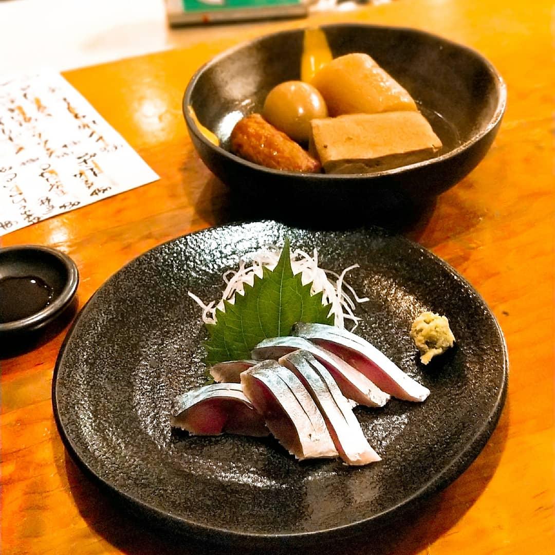 酒房とまり木(肥後橋駅・海鮮料理,おでん)