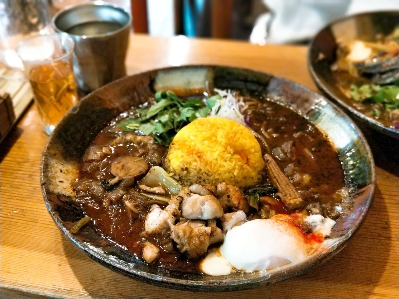 スープカレー なっぱ (大江橋駅・スープカレー)