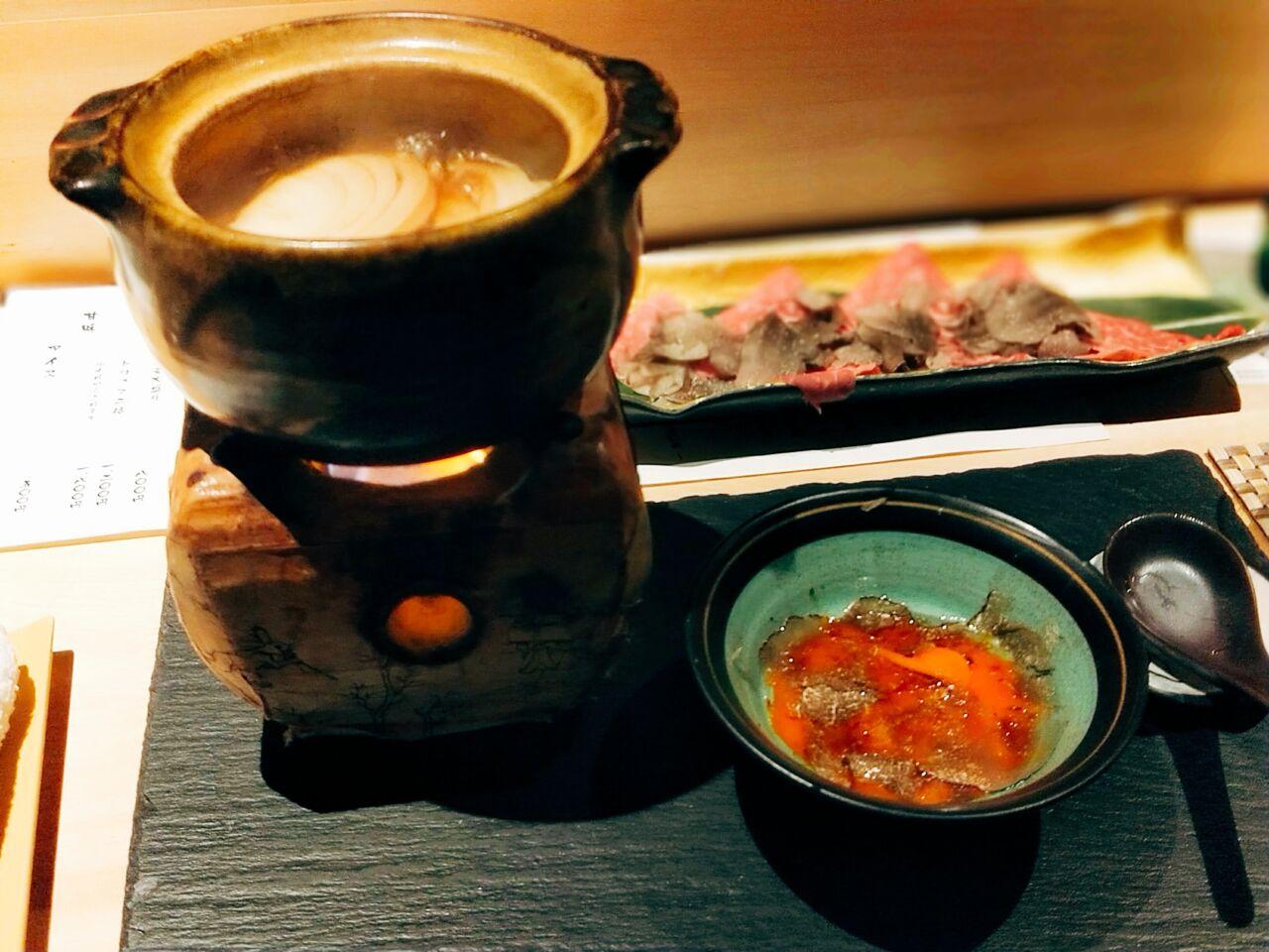 トリュフ蕎麦 わたなべ(北新地駅・蕎麦,和食)