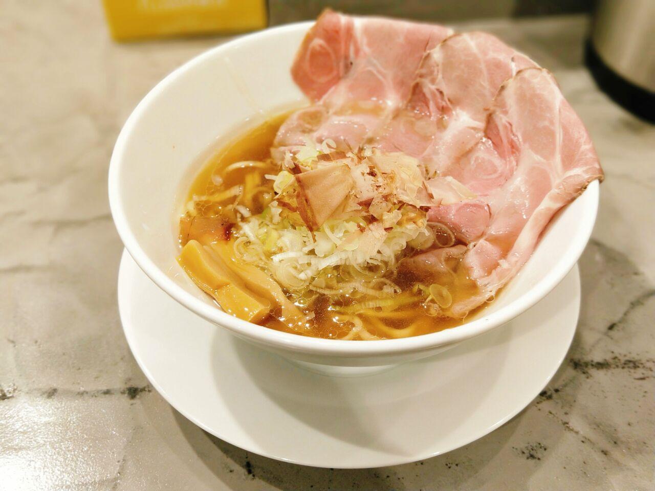 世界が麺と○○で満ちる時(西中島南方駅・ラーメン)