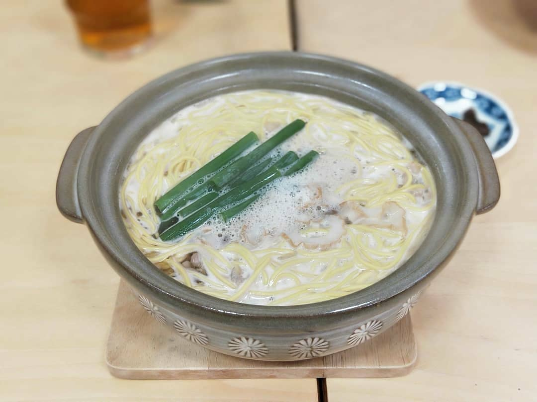 鍋焼きラーメン 千秋(高知駅・ラーメン)