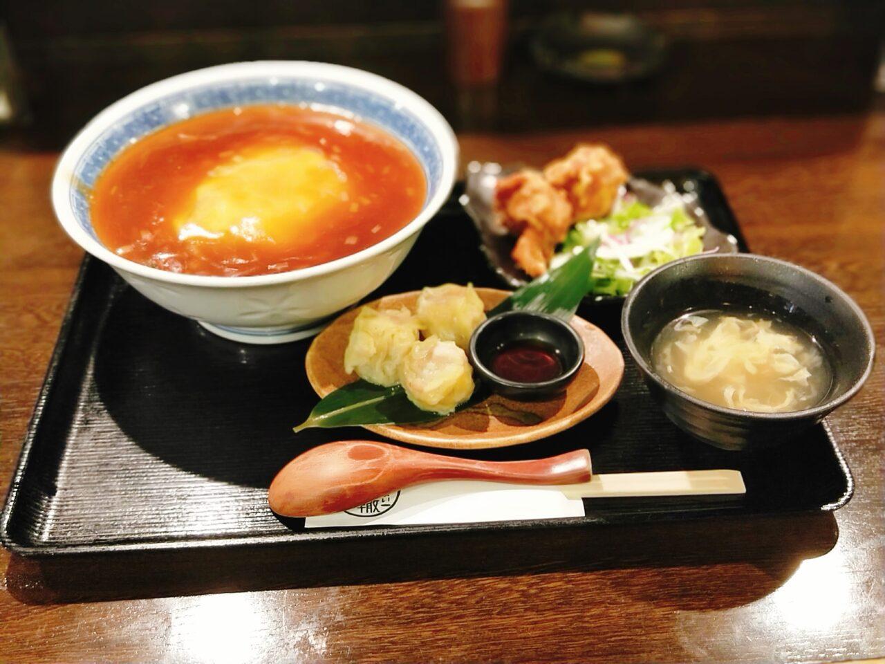 轍 わだち(近鉄日本橋駅・中華料理)