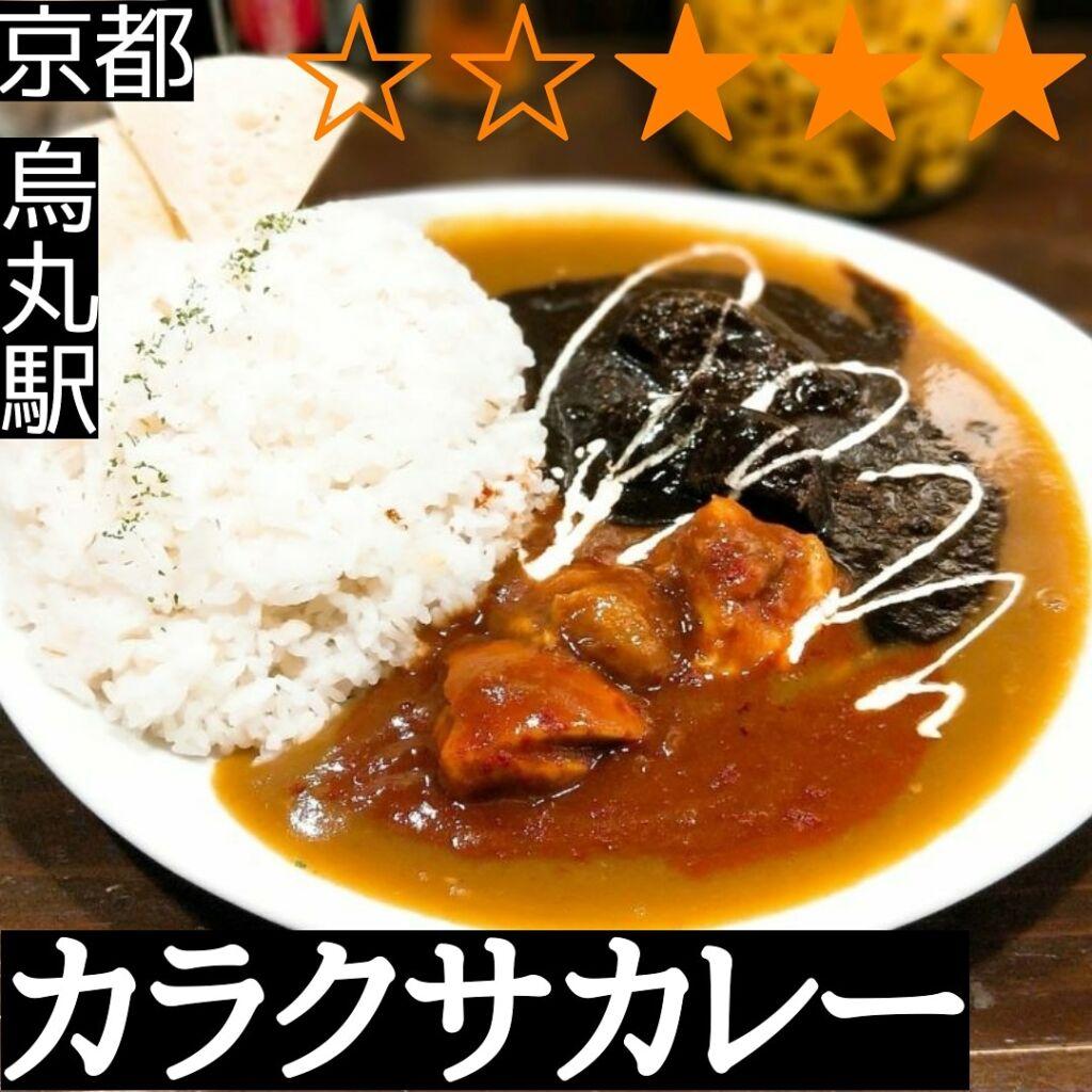 カラクサカレー(烏丸駅・カレー)